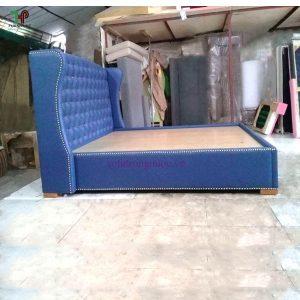 giưởng ngủ gỗ bọc nệm