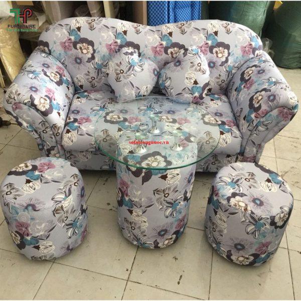 sofa trái tim mini đẹp