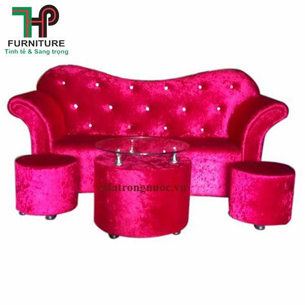 sofa trái tim mini