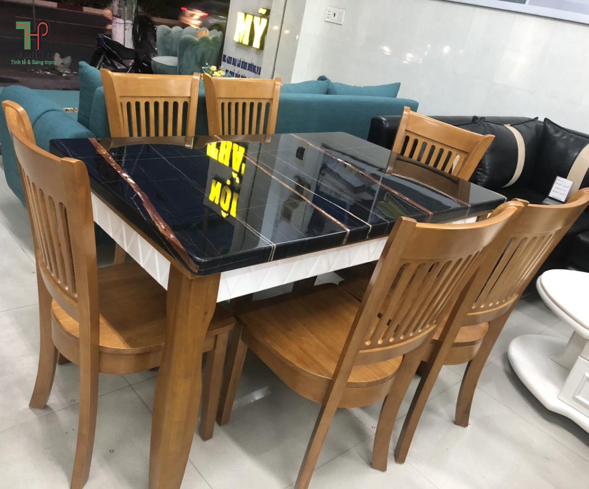 bàn ăn mặt đá giá rẻ