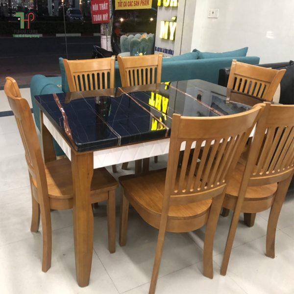 bàn ăn mặt đá giá rẻ TPHCM