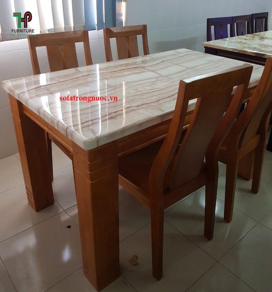 bàn ăn mặt đá giá rẻ tại TPHCM