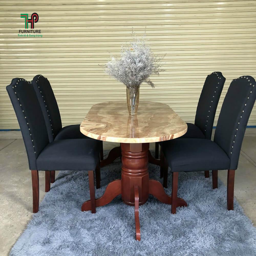 bàn ăn ghế nệm