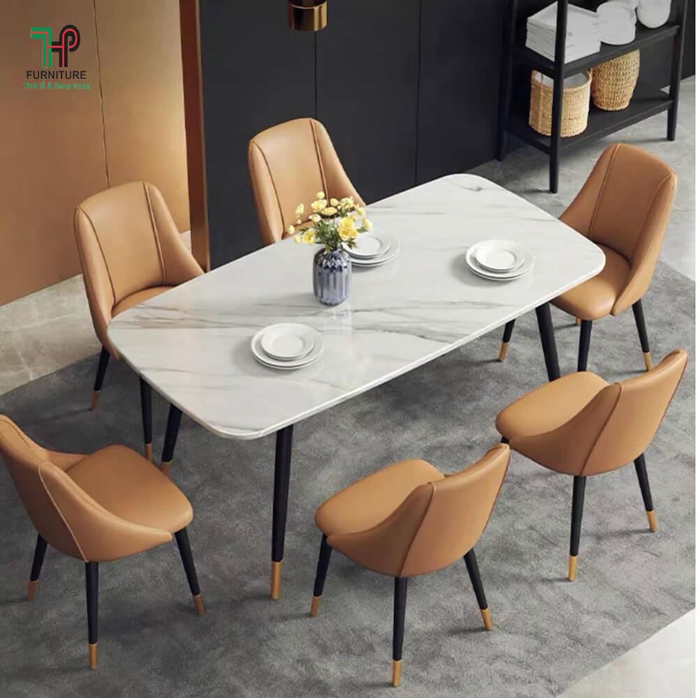 bộ bàn ghế ăn hiện đại mẫu mới nhất