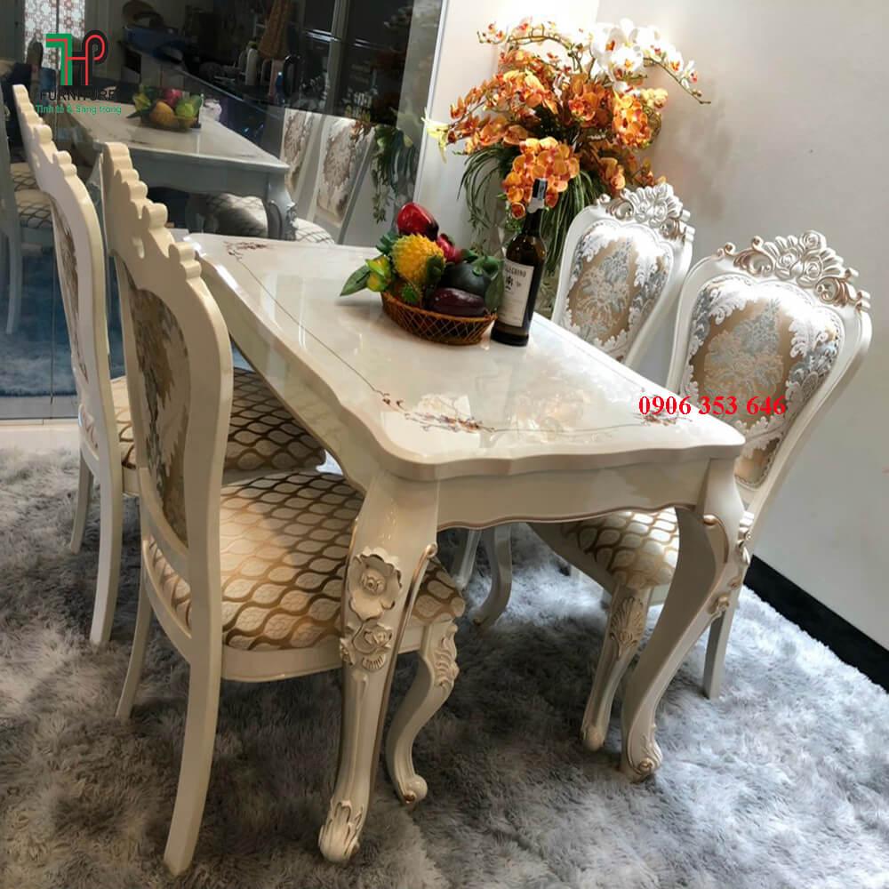 bàn ghế ăn cổ điển (2)