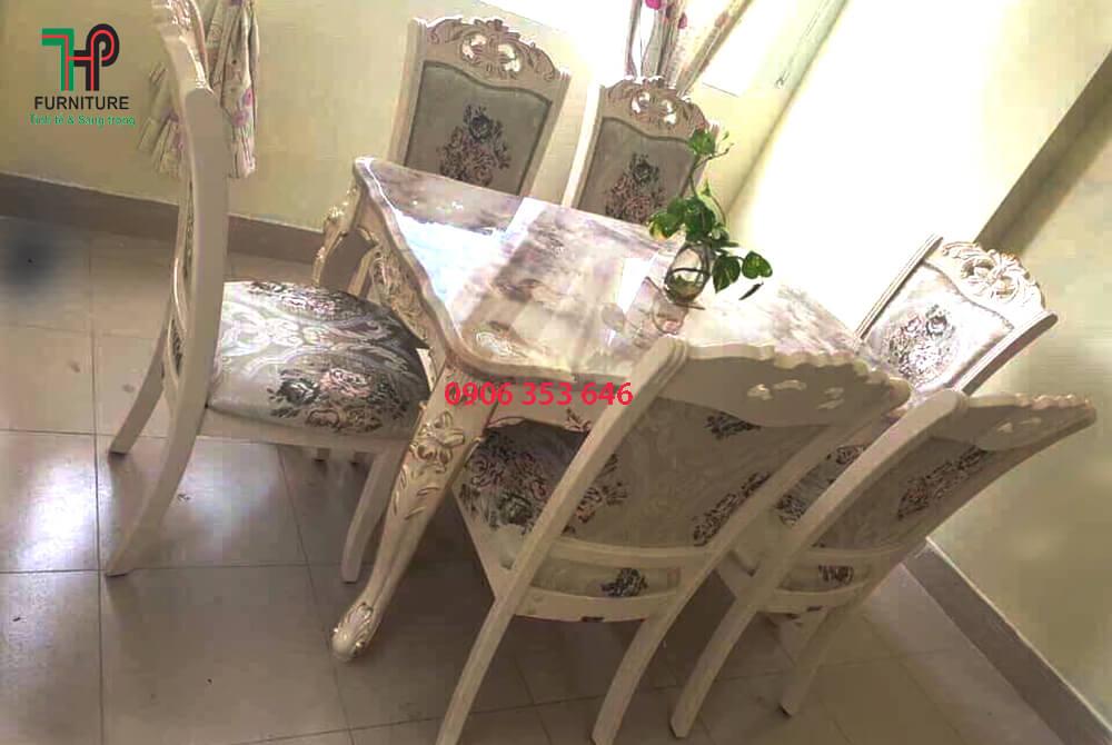 bàn ghế ăn cổ điển đẹp