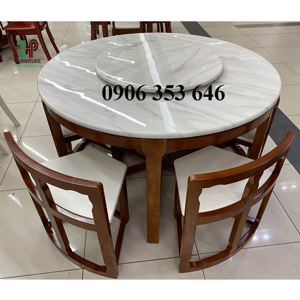 bàn ăn xếp gọn